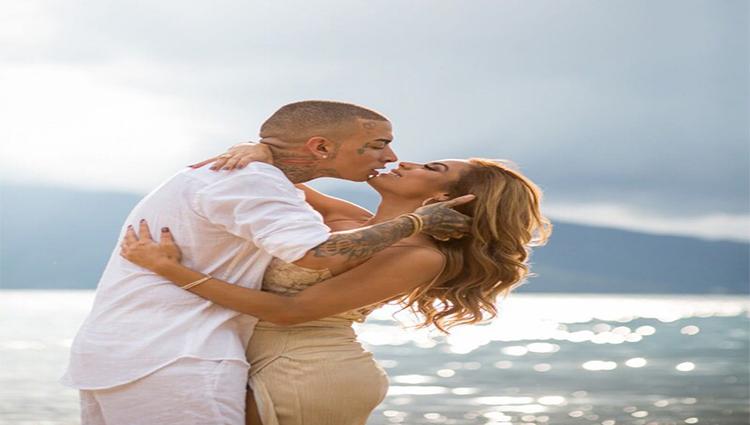 MC Guimê mostra fotos do ensaio pré Wedding que fez com Lexa