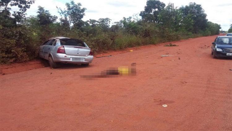 Homem é atirado para fora de carro em capotagem e morre no Cinturão Verde